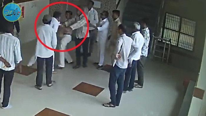 درگیری جنجالی بیمار با پزشک در بیمارستان!