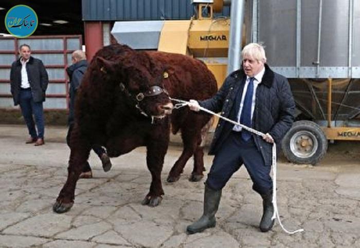 حرکات عجیب نخست وزیر انگلیس