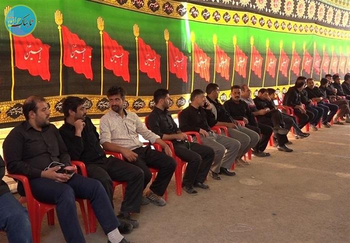 صف نذر خون در خمینی شهر