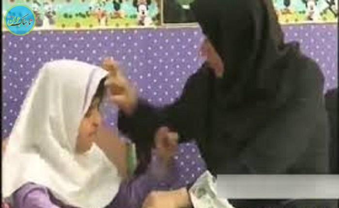 عاشقانه های خانم معلم با دختر نابینا