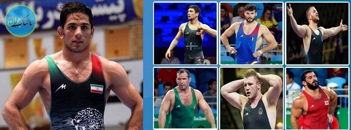 برند ایرانی روی لباس ورزشکاران