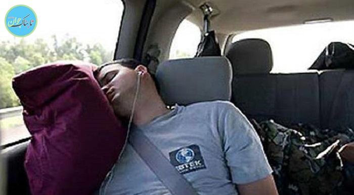 خوابیدن در خودرو