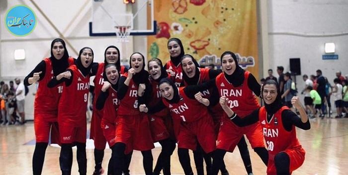 بسکتبال بانوان ایران