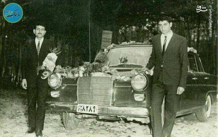 ماشین عروس قدیم