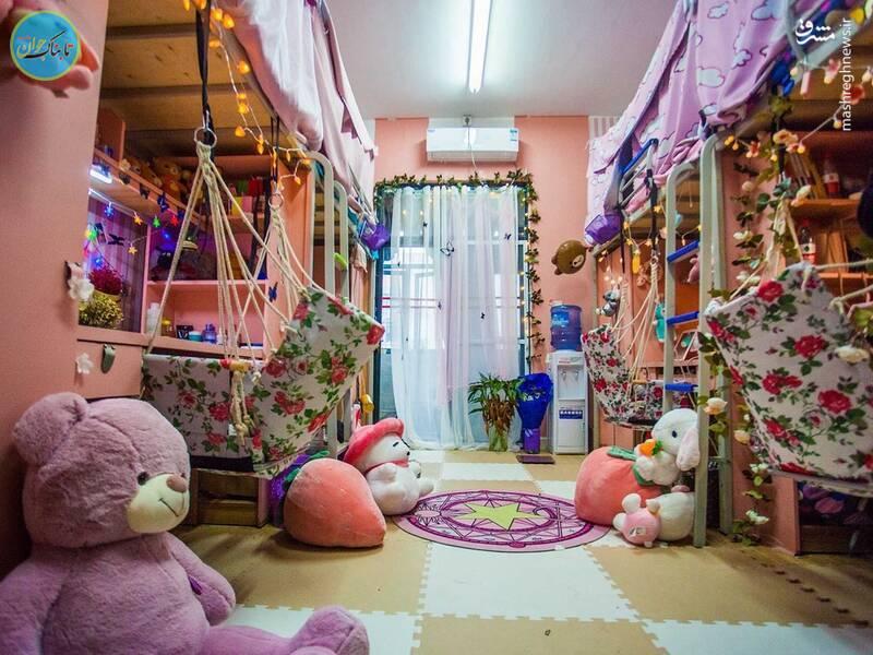 خوابگاه دانشجویان در چین