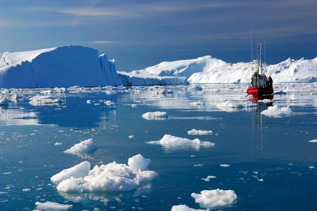 آب شدن یخچال ها