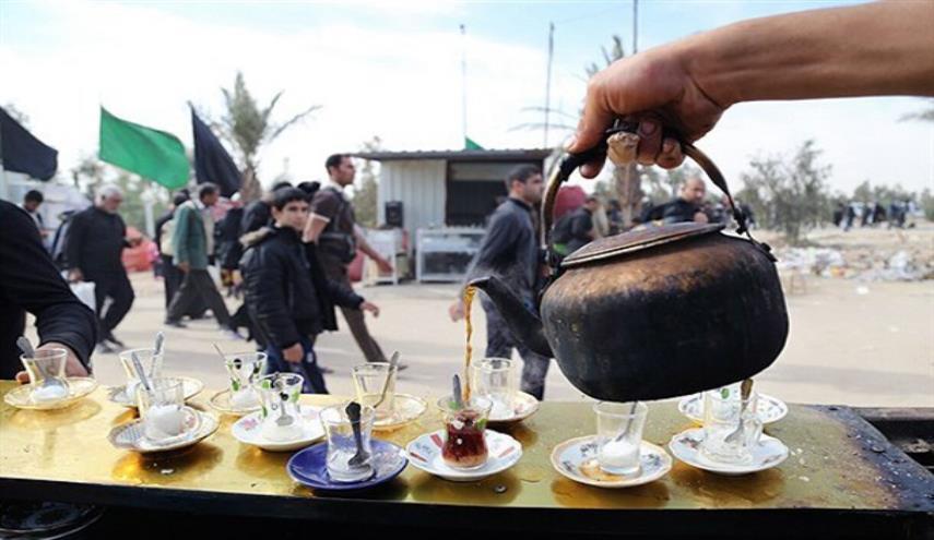 پذیرایی عراقی ها در اربعین