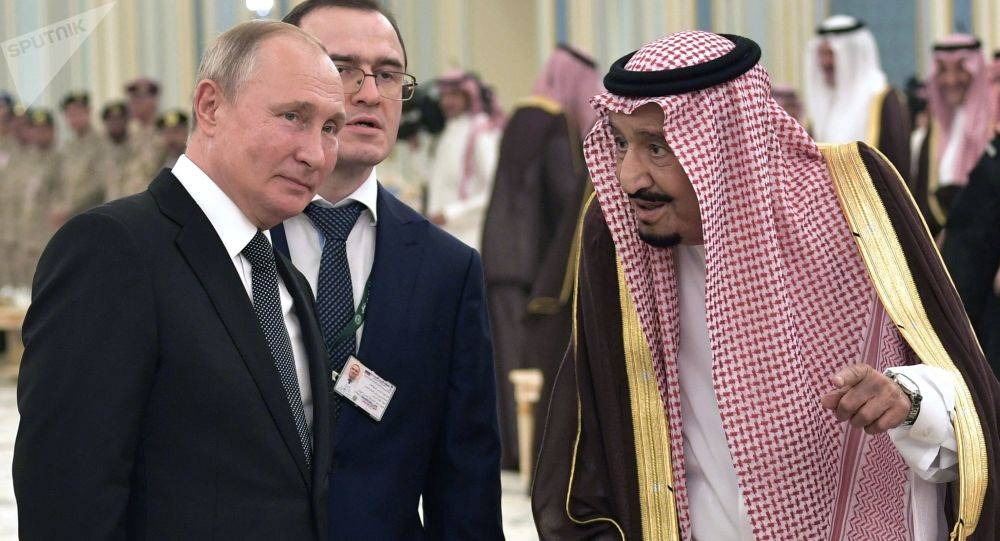 پوتین و پادشاه عربستان