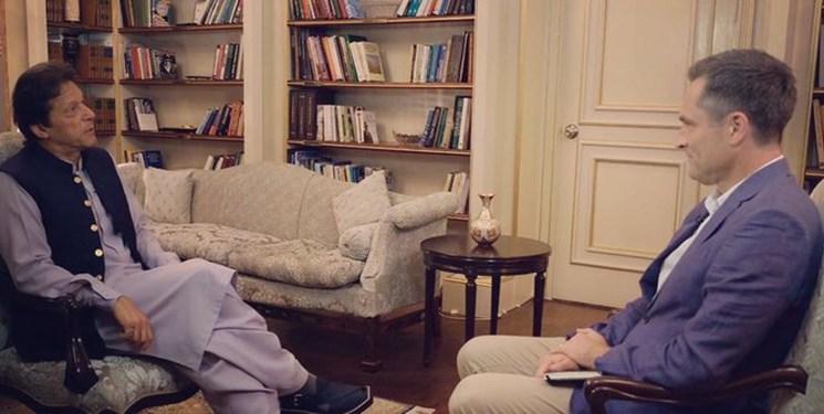 مصاحبه عمران خان