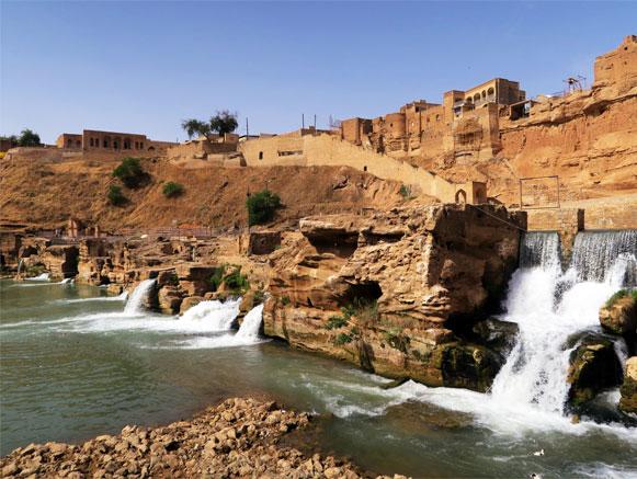 دهمین میراث یونسکو در شوشتر ایران با نام نهر داریون