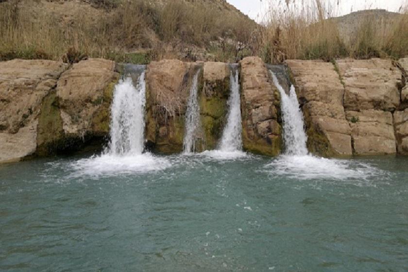 آبشار  هفت قلوی ایلام