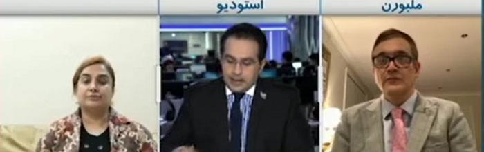 گزارش شبکه های فارسی زبان درباره روح الله زم