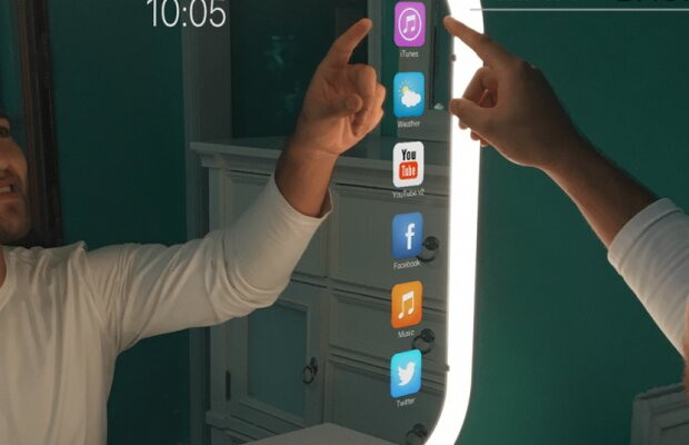آینه هوشمند ایرانی