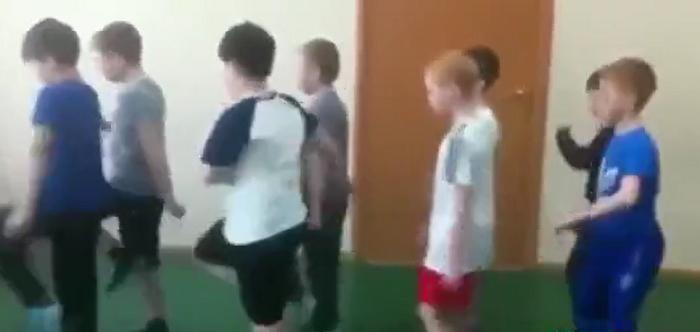 ورزش کردن کودکان