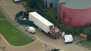 کشف کامیونی حامل ۳۹ جسد در قلب لندن