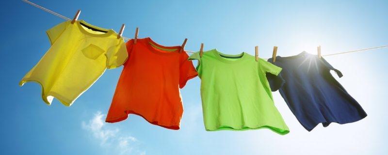 شستن لباس ها