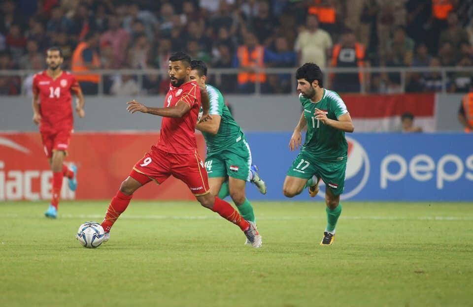 بازی عراق و بحرین
