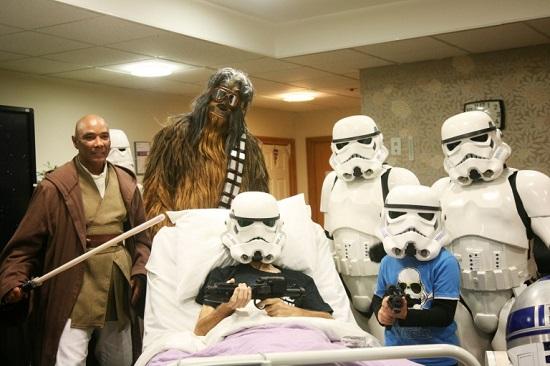 جنگ ستارگان در بیمارستان