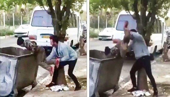 شما چند نفر را به سطل زباله انداختهاید؟!