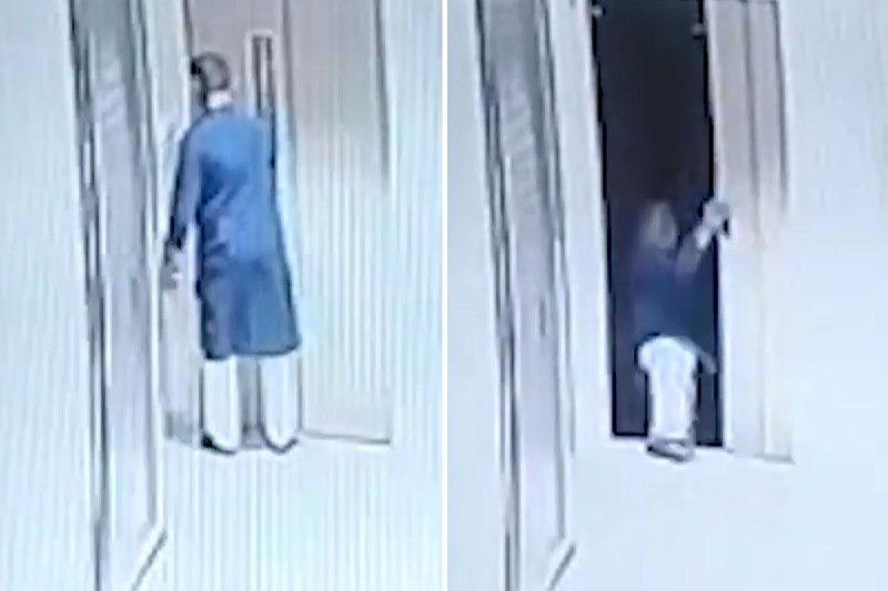 اشتباه مرگبار هنگام سوار شدن به آسانسور!