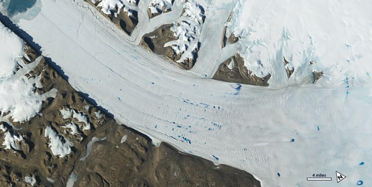 یخ های زمین