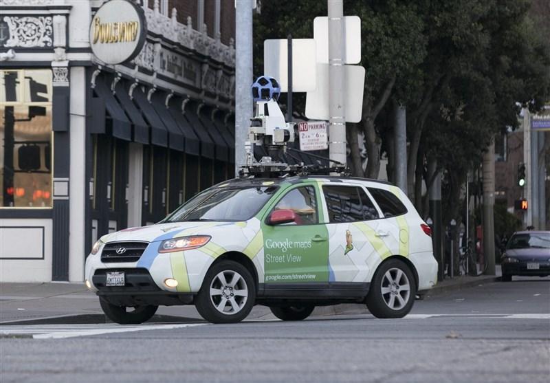 خودرو گوگل مپ