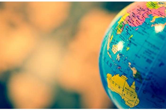 نقشه کره زمین