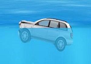 غرق شدن خودرو