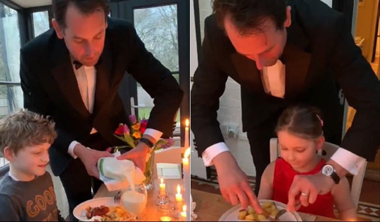 ابتکار جالب برای جشن تولد حین قرنطینه خانگی!