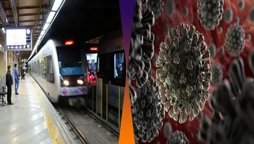 کرونا در مترو