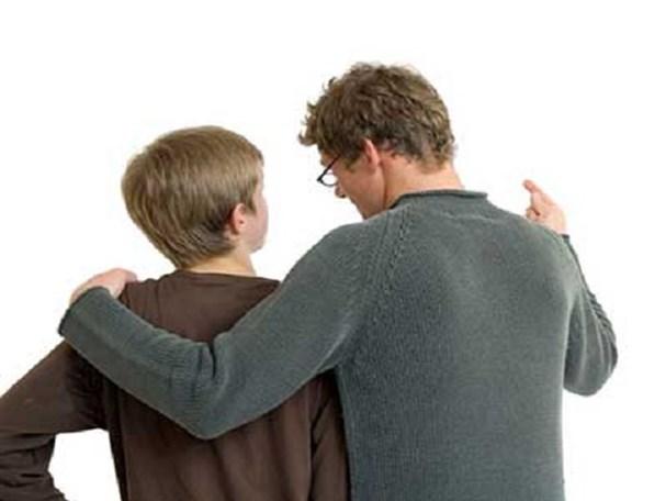 نوجوان و پدر