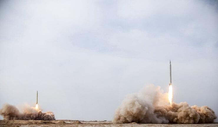 موشک های بالستیک سپاه