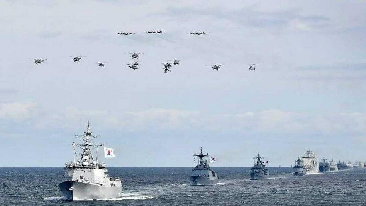 کشتی های جنگی کره جنوبی