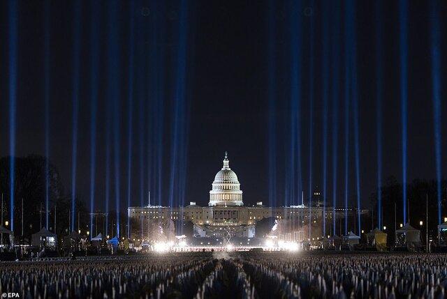 کنگره در تحلیف یایدن