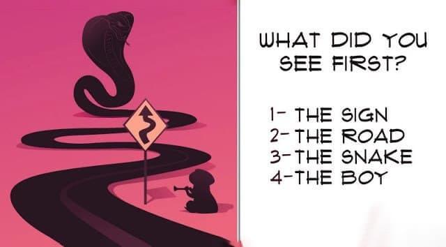 تست روانشناسی تصویری با جواب