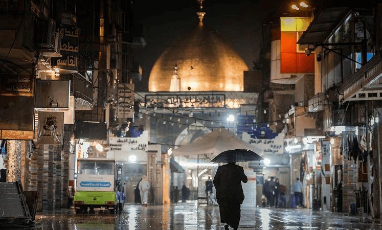باران نجف اشرف