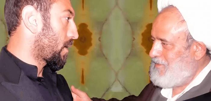 استاد انصاریان و برادرزاده اش علی انصاریان