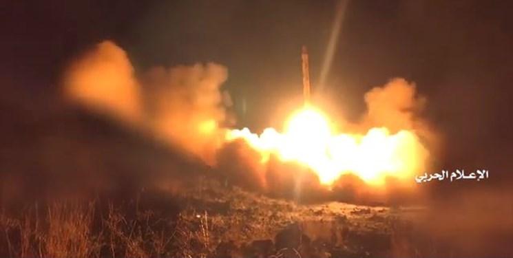 لحظه شلیک موشک «ذوالفقار» به خاک عربستان