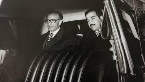 صدام و شاه