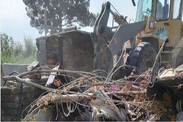 تخریب خانه در کرمانشاه