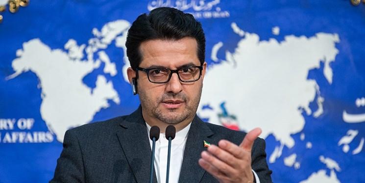 سید عباس موسوی سخنگوی وزارت خارجه ایران