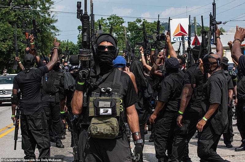 یک ائتلاف شبه نظامی در آمریکا خواستار تشکیل