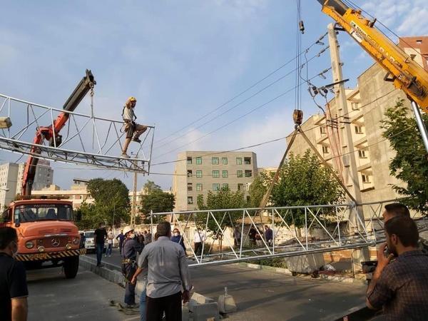 حادثه در حکیمیه تهران