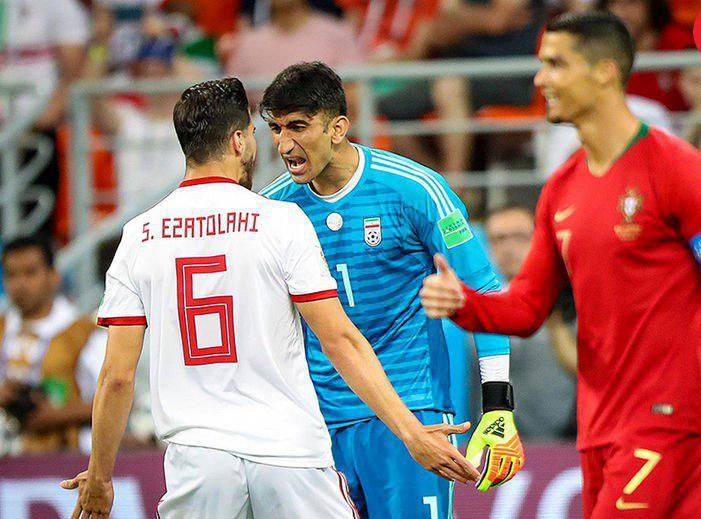 ماجرای درگیری عجیب عزتاللهی و بیرانوند در جام جهانی