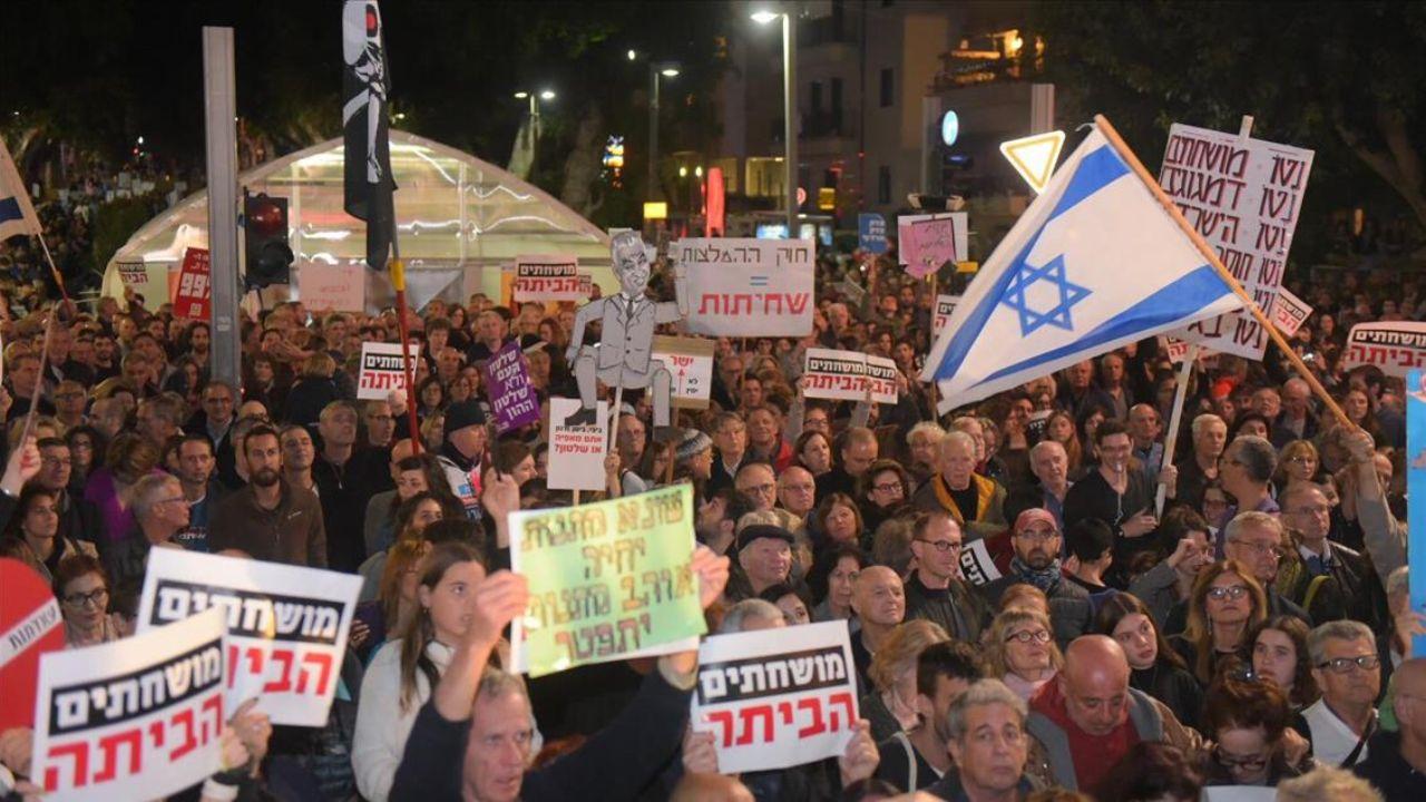 اعتراضات اسرائیل
