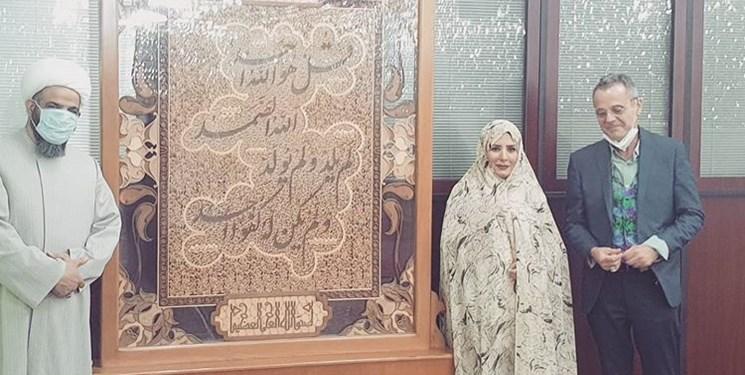 مسلمان شدن در حرم امامزاده صالح