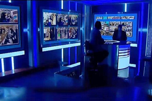 استرس عوامل پشت صحنه شبکه خبر روی آنتن زنده