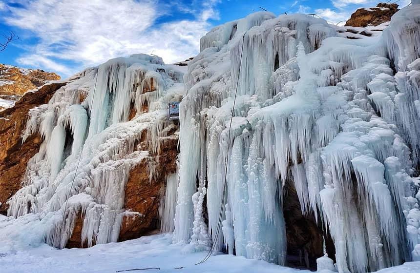 صخره های یخی