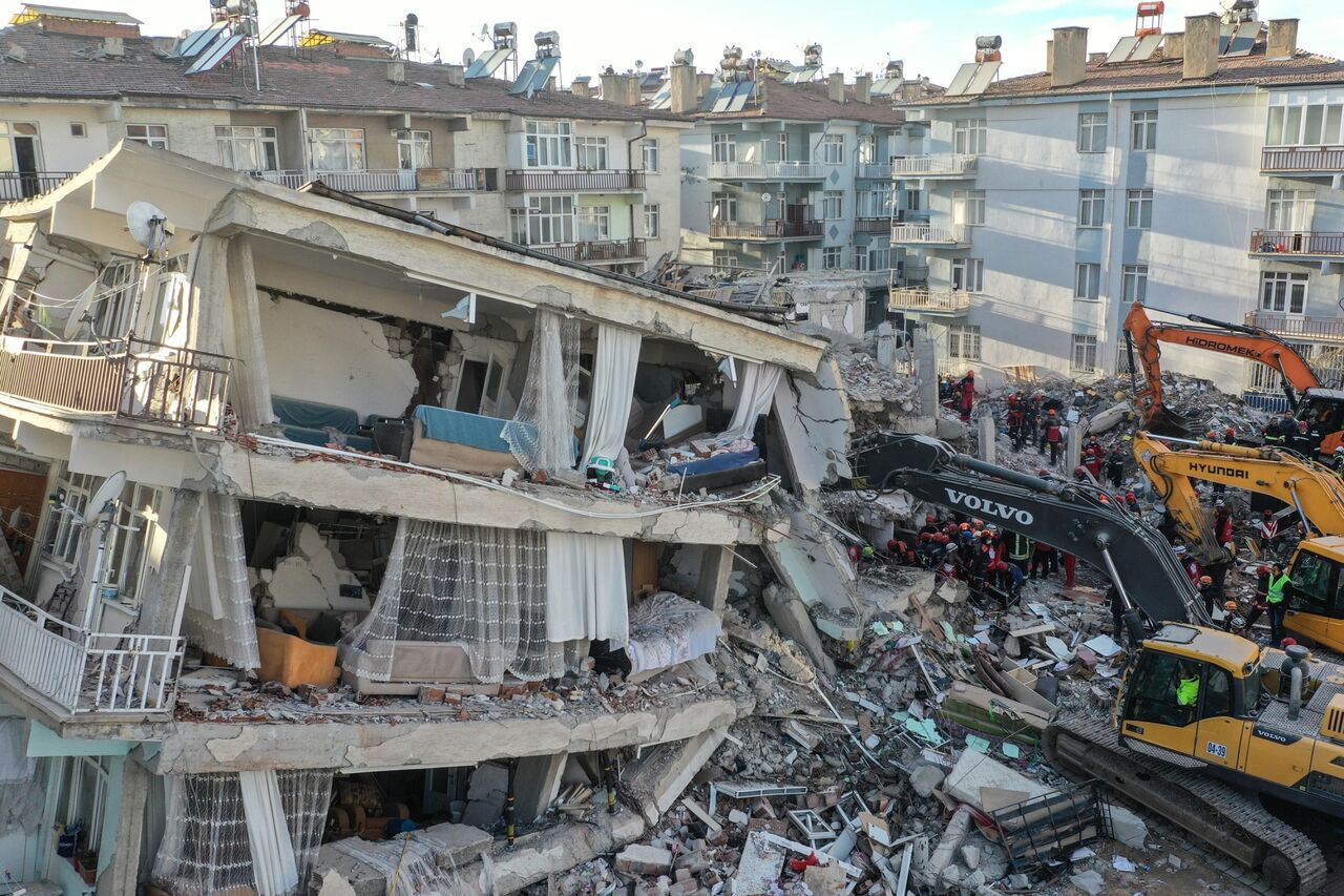زلزله ترکیه