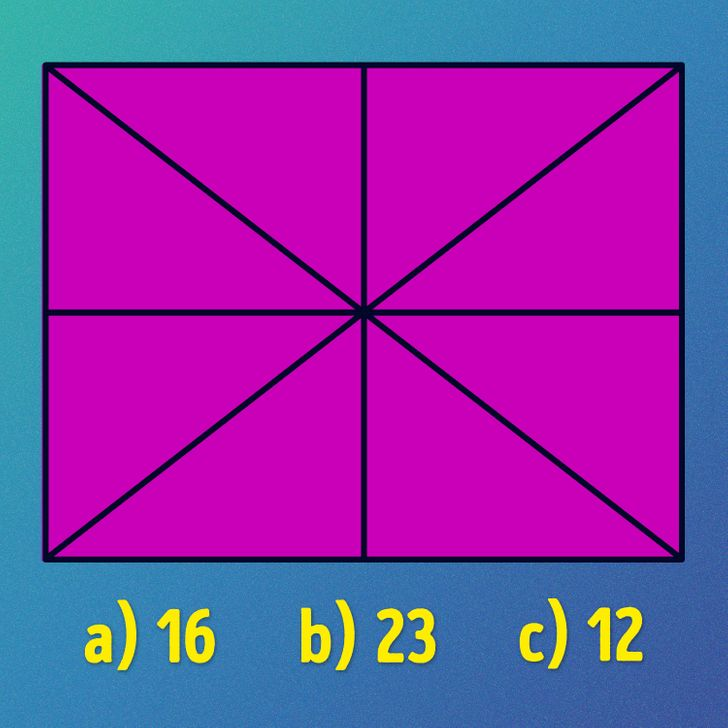 معما تصویری مثلث و پیدا کن